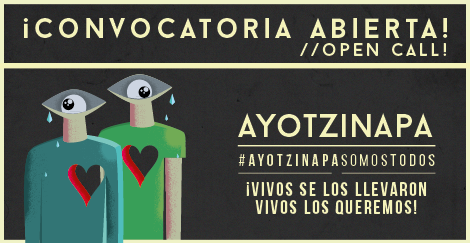 Cartel para no olivdar / Ayotzinapa